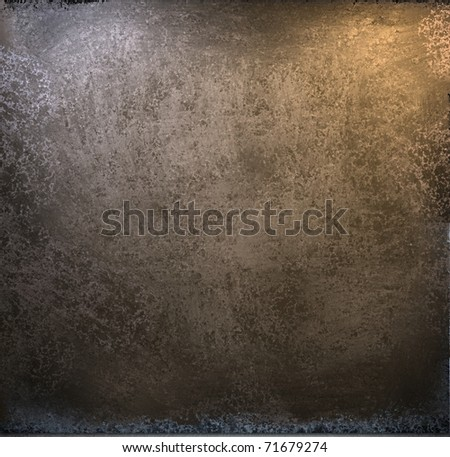 dark brown grunge background with soft lighting, leather looking texture, and copy space to add your own graphic design or text - stock photo