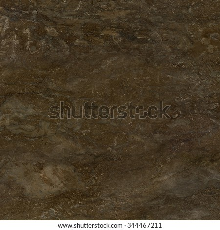 Dark brown marble natural stone texture background. Approximately 2 by 2 foot area. - stock photo