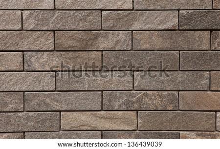 Dark brown marble pattern, close up shot - stock photo