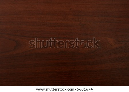 Dark cherry wood grain texture - stock photo
