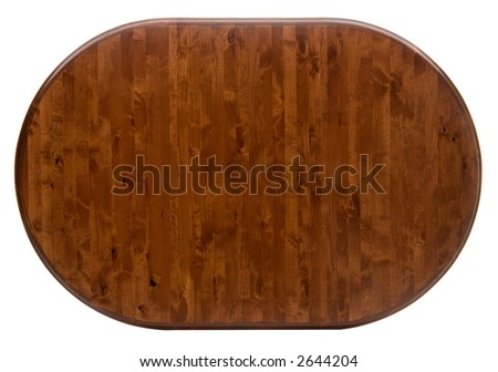 Dark Color Wood Table Top - stock photo