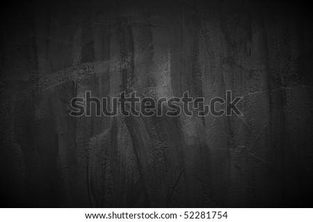 Dark Concrete Wall - stock photo
