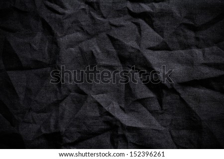 Dark fabric background - stock photo