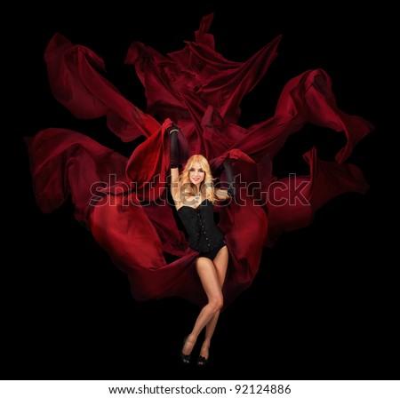 Dark Goddess - stock photo