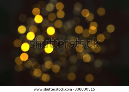 Dark gold and black. defocused - stock photo