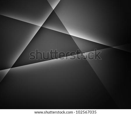 Dark Gray Abstract Background - stock photo