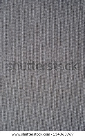 dark  gray dirty texture canvas fabric as background - stock photo