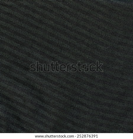 dark gray striped fabric texture as background