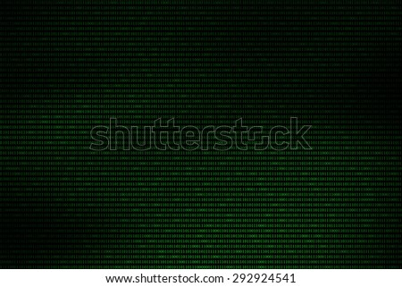 dark green binary code abstract background, technology concept - stock photo
