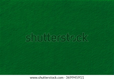 Dark Green Felt Background for design. View from above. Close up. - stock photo