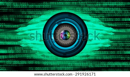 dark green illustration of technology internet network computer background with binary number, style background. infographics. Information. motion blur. pixel. text box. eye. arrow - stock photo