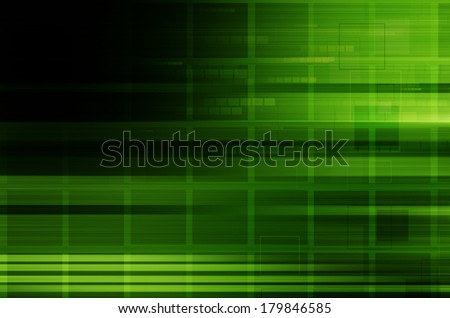 dark green technology abstract background. - stock photo