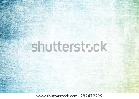 dark green to blue gradient color on designed wood texture - stock photo