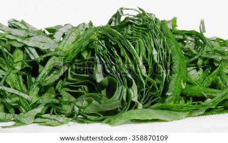 Dark green vegetables are healthier                          - stock photo