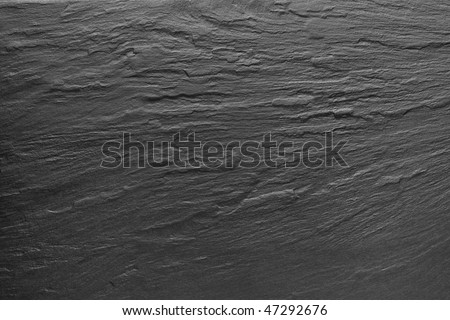 Dark grey / black slate background or texture. - stock photo