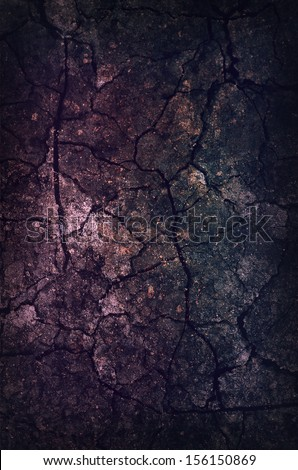 Dark Grunge Background with scratches and damages - stock photo