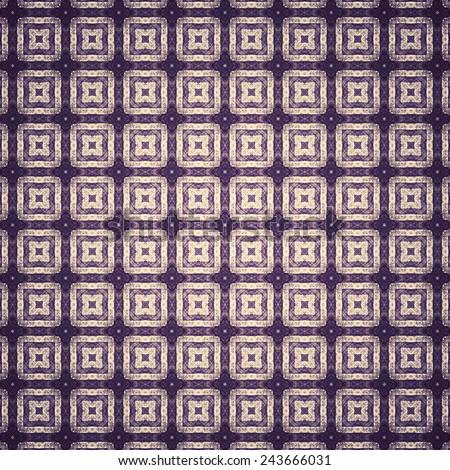 dark grunge old textile pattern background  - stock photo