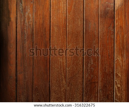 Dark grunge wood texture background plank panel timber, backdrop