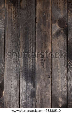 Dark grunge wooden texture background. - stock photo