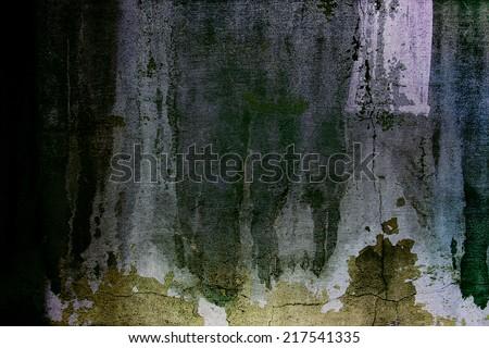 Dark grungy background - stock photo