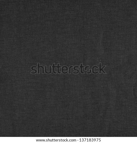 Dark linen texture background - stock photo