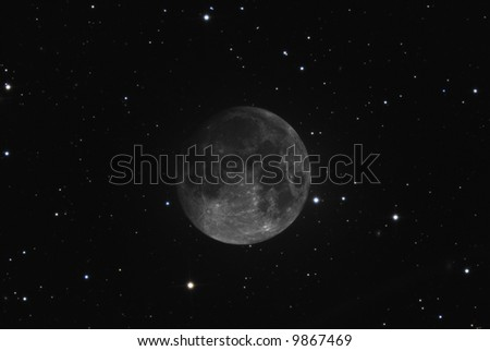 Dark Moon - stock photo