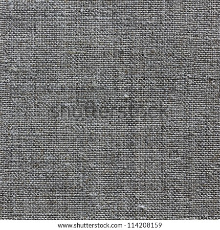 dark natural linen texture for the background - stock photo