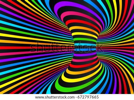 techno rainbow background - photo #48