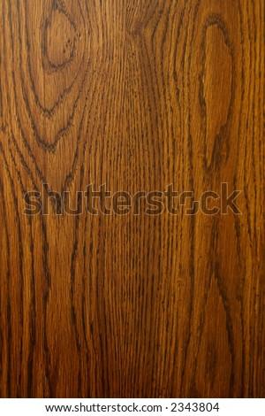 Dark oak wood background - stock photo