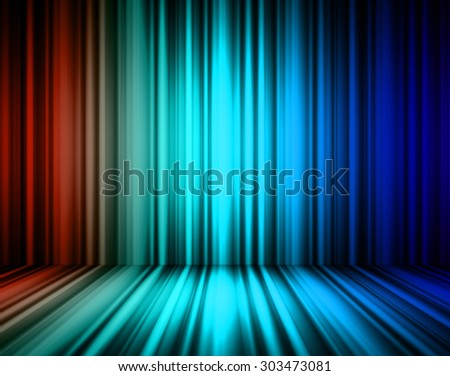 dark orange blue lines Abstract background. motion move