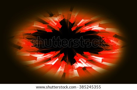 dark orange Circle wave arrow illustration of technology internet network computer background with binary number, style. infographics. Information. motion blur. pixel. Binary digit. web wabsite tech - stock photo