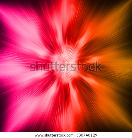 dark pink orange Light Abstract Technology background for computer graphic website internet and business.circuit. illustration. infographics. motion move blur.neon.pixel. vivid Bright. zoom - stock photo