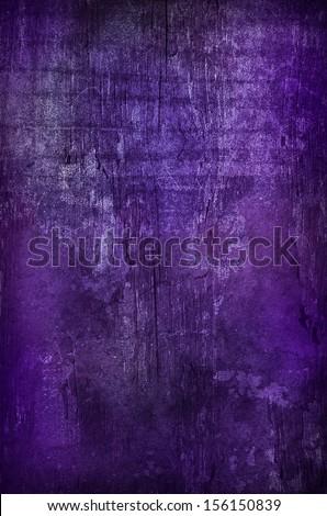 Dark Purple Grunge Background with nice texturte - stock photo