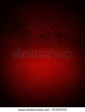 dark red and black background with streaks and vintage grunge texture and dramatic lighting with copy space for ad or text - stock photo