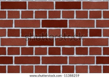 Dark Red Brick Repeating Wallpaper Background Pattern Seamless Tile