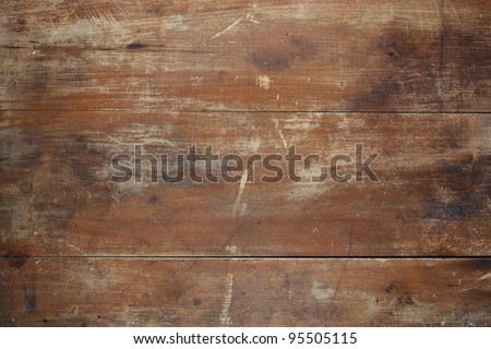 Dark red grunge wooden texture background. - stock photo