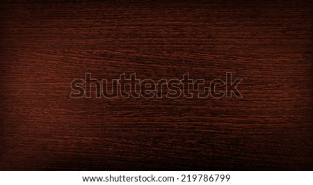 dark red wooden background as furniture board with empty space - stock photo