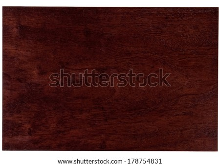 Dark reddish wood - stock photo