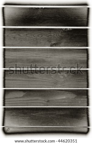 Dark retro style toned boards texture abstract with dark vignette, planks surface background in vertical orientation, digitally altered, nobody. - stock photo