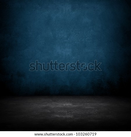 dark room - stock photo