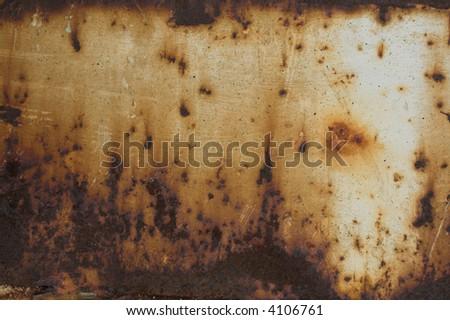 Dark rust texture - stock photo