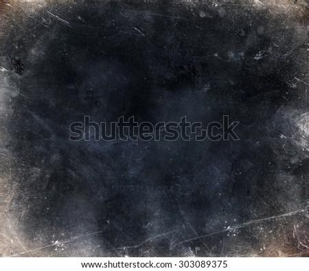 dark scratched grunge texture background - stock photo