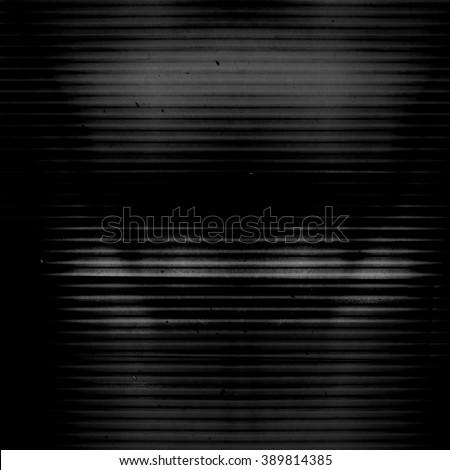 Dark screen static texture background - stock photo