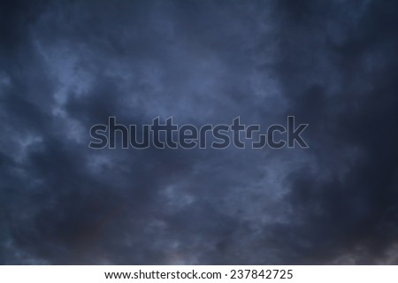 dark  sky background - stock photo