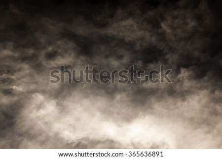 Dark Sky light brown tone - stock photo