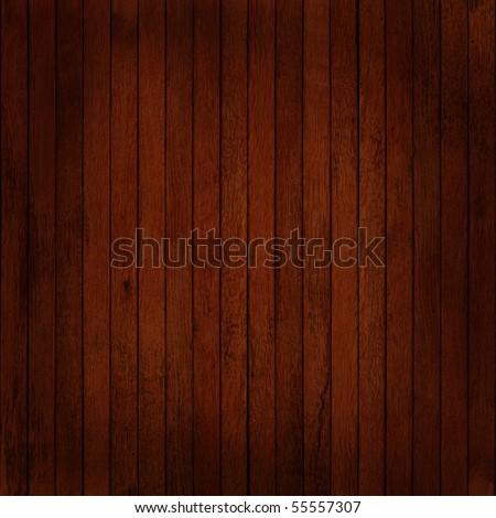 Dark timber wall background - stock photo