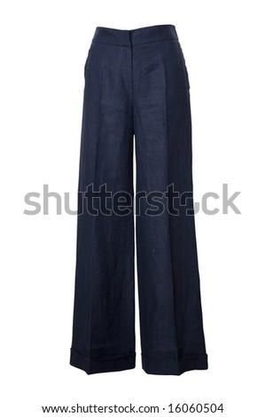 dark trousers - stock photo
