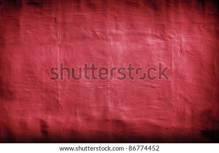 dark vintage red background with artistic shadows added - stock photo
