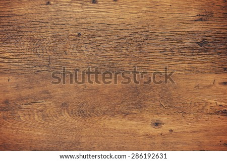 Dark vintage wood texture background with dry rough surface - stock photo