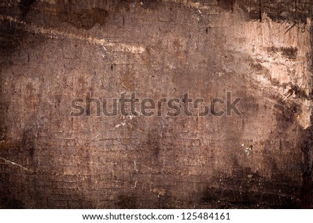 Dark vintage wooden background - stock photo